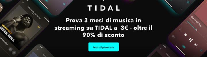 Tidal Promo