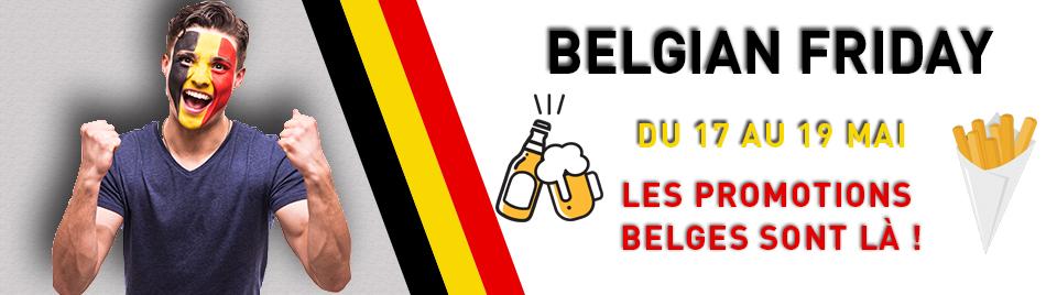 Profitez des offres Belgian Friday ! banner-0