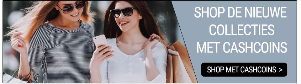 Shop de nieuwe collecties met CashCoins banner-0