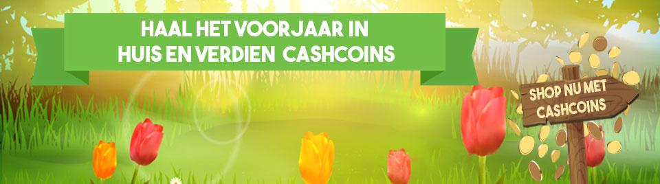 Shop voorjaarsaankopen met CashCoins banner-0