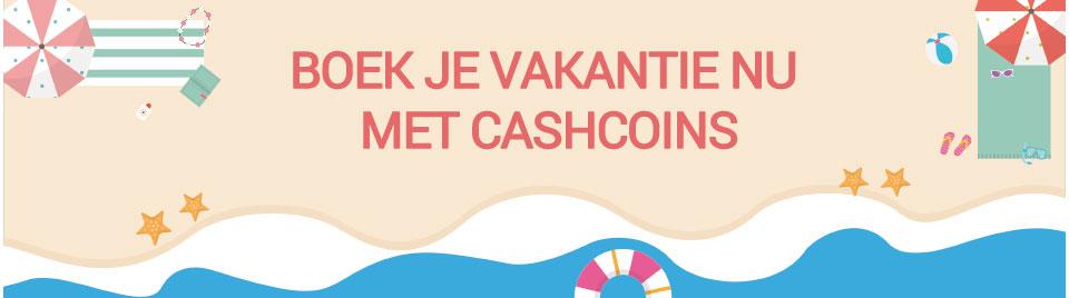 Boek nu je vakantie met CashCoins banner-0