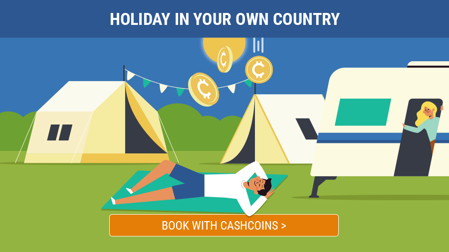Book your summer holiday with cashcoins banner-0