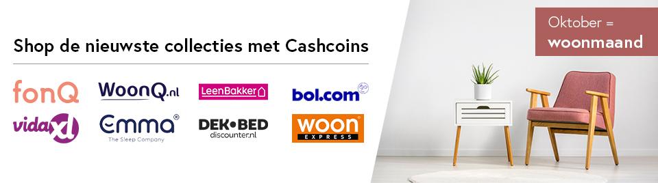 Shop de nieuwste wooncollecties met CashCoins banner-0