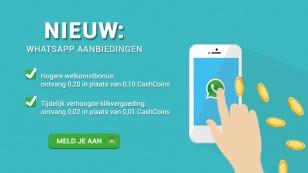 verdien-extra-cashcoins-whatsapp