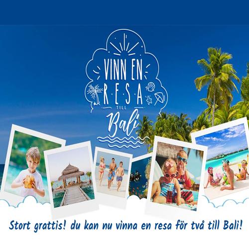 Vinn en resa till Bali!