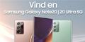 Vind en Samsung Galaxy Note 20