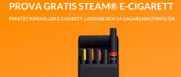 Steam E-cigarett