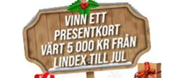 Lindex Jul presentkort