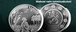 Suomen Moneta: Sodasta rauhaan muistomitali