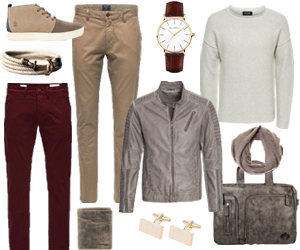 Herbstoutfit farbenfroh